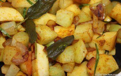 Kohlrabi Apfel Gemüse